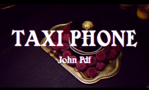"Project visual Clip John PDF ""An Epic Adventure"""