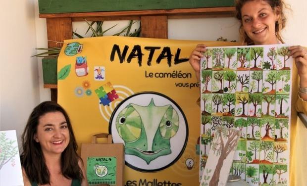 Project visual AGIR pour les enfants du Sénégal avec Natal le caméléon !