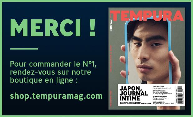 Project visual TEMPURA, le nouveau magazine trimestriel sur les cultures du Japon