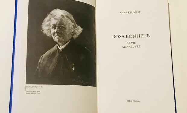 Visuel du projet Réédition de la biographie de Rosa Bonheur