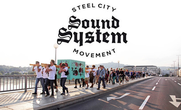 Project visual STEEL CITY SOUND SYSTEM MOVEMENT