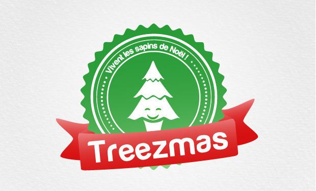 Visuel du projet Treezmas, Noël pour tous les sapins