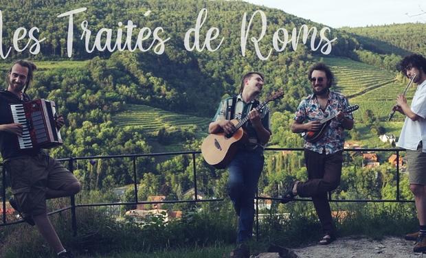 Visuel du projet Aide au financement du 1er album du groupe Les Traités de Roms