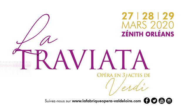 Visuel du projet La Traviata - La Fabrique Opéra Val de Loire
