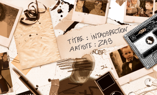 Visuel du projet INTROSPECTION,  1er Album de ZAS