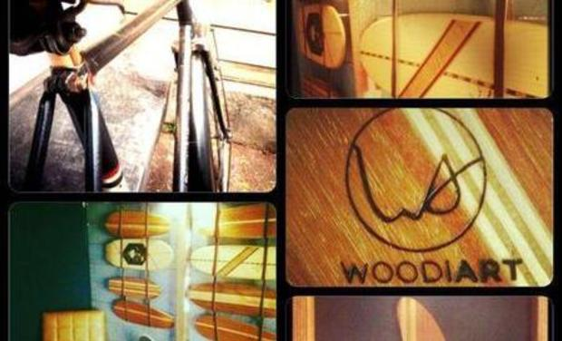 Project visual WOODIART PREMIUM SKATEBOARDS & ARTISTIC CONCEPTS