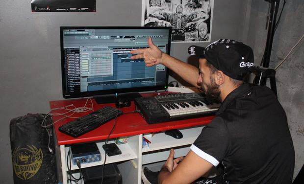 """Visueel van project Projet musical type """" rap conscient"""""""