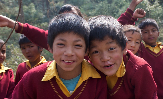 Project visual Permaculture dans l'orphelinat de Kolhuwa (Népal)