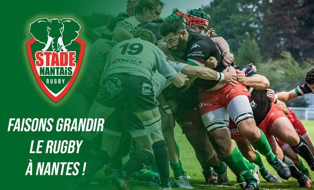 Visuel du projet Stade Nantais - Faisons grandir le rugby à Nantes !
