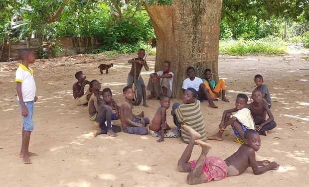 Visuel du projet Une école pour les enfants d'Agbodzokpoé: