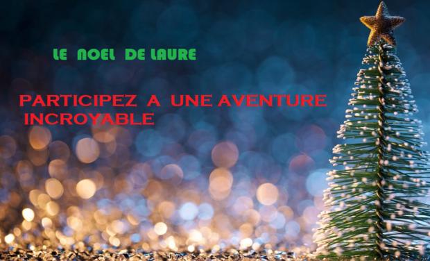 Visueel van project le-noel-de-laure.Il s'agit de d'un petit roman de Noël personnalisé pour enfants
