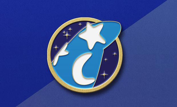Project visual Pin's Chapeau du Magicien