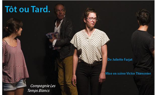 """Visuel du projet Cie Les Temps blancs - """"Tôt ou tard"""""""