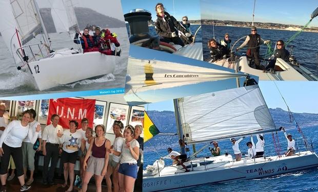 Project visual Les Canoubières : la performance pour toutes en voilier