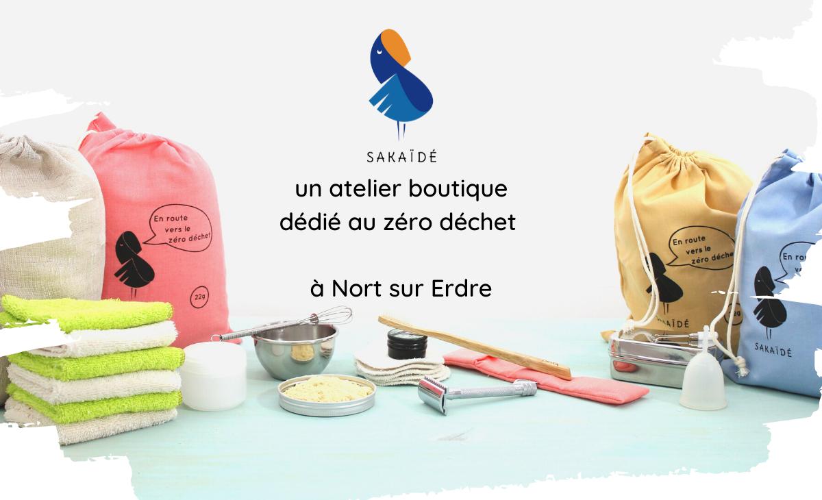 Image du projet Sakaïdé, un atelier boutique dédié au Zéro déchet