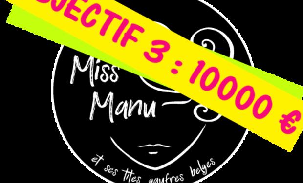 Visuel du projet Miss Manu et ses tites gaufres belges - Food-bike à La Réunion