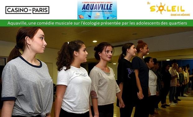 Visueel van project Les adolescents des quartiers se mobilisent pour la planète