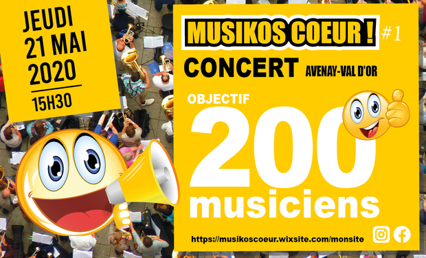 Project visual CONCERT OBJECTIF 200 MUSICIENS
