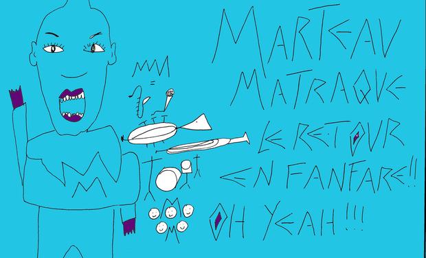 Visueel van project Marteau Matraque / 4e album
