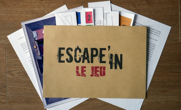 Project visual Le Kit d'escape Game a la maison !