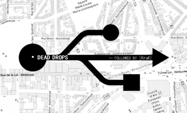 Visuel du projet DEAD DROPS [AND] ... followed by [KraK]
