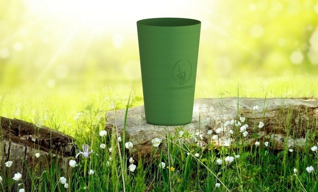 Project visual VeganBottle Cup : le gobelet 100% végétal