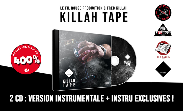 Visuel du projet Killah Tape | Première Tape du beatmaker Fred Killah en CD !