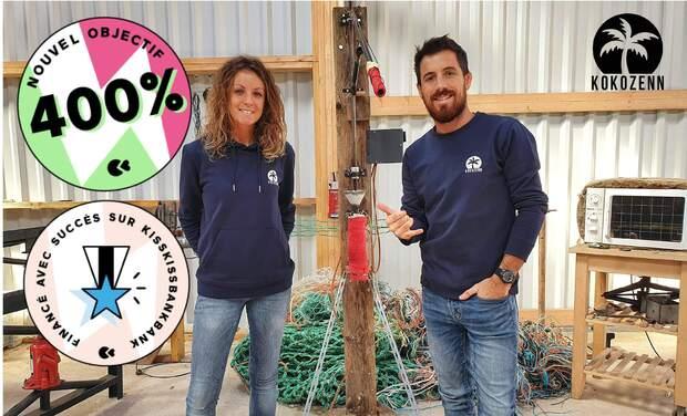 Project visual Kokozenn - La marque qui nettoie les océans