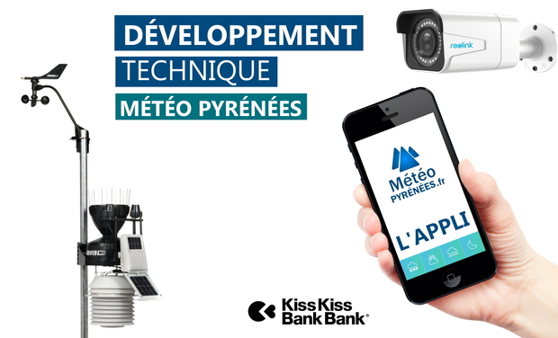Visuel du projet Développement technique de Météo Pyrénées