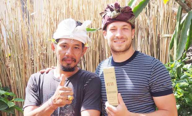 Visueel van project Eden Bamboo, une entreprise eco-responsable et solidaire