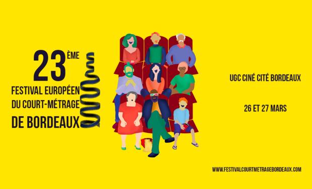 Visuel du projet Festival Européen du Court Métrage de Bordeaux