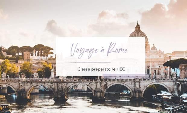 Project visual Voyage à Rome. Classe préparatoire HEC / Lycée Saliège