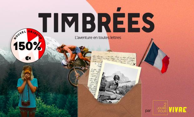 Project visual Timbrées, l'aventure en toutes lettres