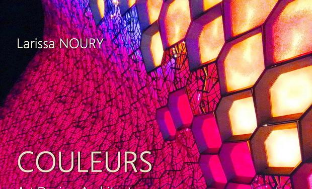 """Project visual Livre de Larissa NOURY: """"Couleurs. Art, Design, Architecture"""""""