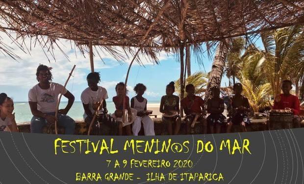 Visueel van project Festival Menin@s do Mar