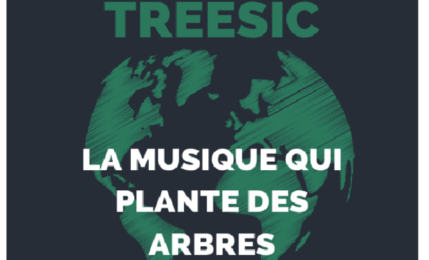 Project visual Treesic! The ecological music platform.