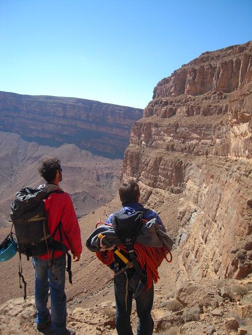 Image du projet Un gîte pour Mimoun! Equipeur local du site d'escalade d'Amellago au Maroc