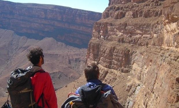 Visueel van project Un gîte pour Mimoun! Equipeur local du site d'escalade d'Amellago au Maroc