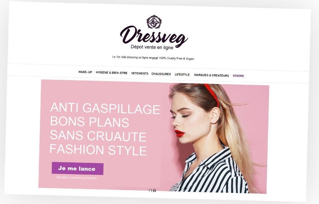 Image du projet DressVeg - Concept store online 100% VEGAN