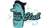 Widget logo pura vida club bleu1