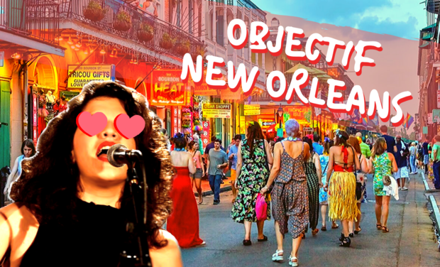 Project visual Objectif New Orleans