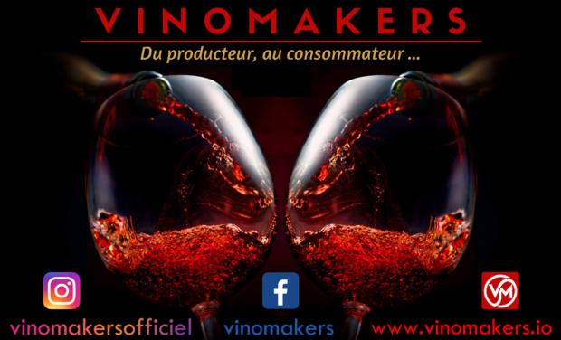 Project visual ENSEMBLE, SOUTENONS ET VALORISONS NOS PRODUCTEUR DE VIN FRANÇAIS AVEC VINOMAKERS