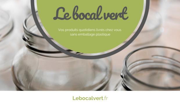 Visueel van project 🌳 Le Bocal Vert ; Livraison de courses 0% plastique