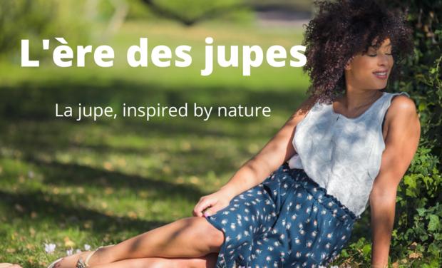 Project visual La jupe éthique inspirée de la nature