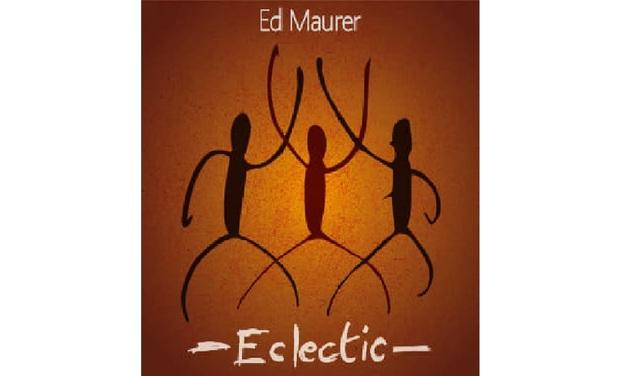 """Visuel du projet """"Eclectic"""", nouvel album de Ed Maurer"""