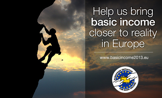 Project visual Help us bring basic income closer to reality in Europe!