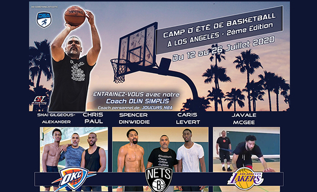 Project visual Camp de Basketball avec coach NBA à Los Angeles