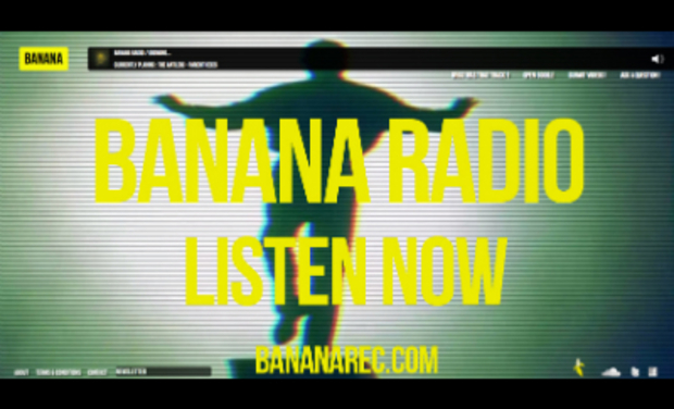 Project visual Banana Radio
