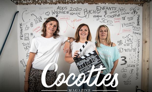 Visuel du projet Cocottes, le magazine féminin dédié aux mamans