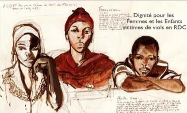 Visuel du projet Dignité pour les femmes et les enfants victimes de viols en RDC